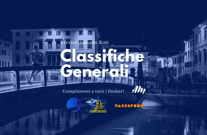 Treviso Autumn Run: Classifiche Generali